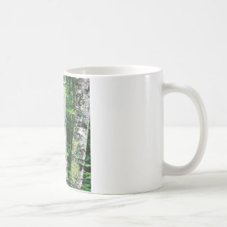 Trees Aspen Trunks Quetico Ontario Canada Coffee Mug