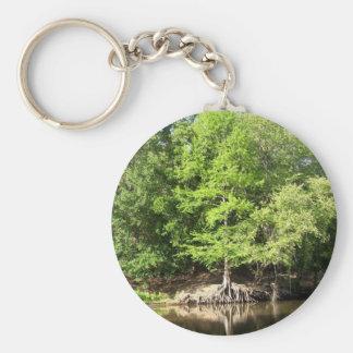 Trees at Big Cypress Bayou Keychain