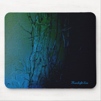 Trees at Night Mouse Pad