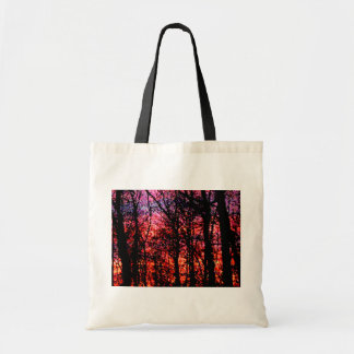 Trees at Sunset Bag