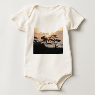 Trees at the Beach Baby Bodysuit