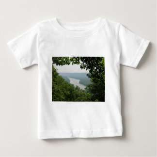 Trees at Wyalusing State Park - Bridge Down Below Baby T-Shirt