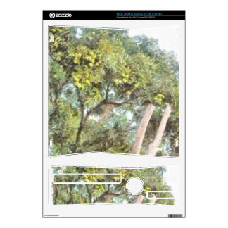 Trees bearing fruits xbox 360 s console decal