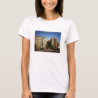 Trees Between Buildings, Alphabet City, NYC T-Shirt