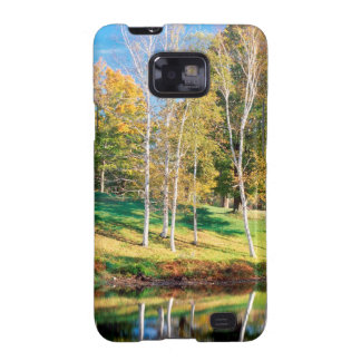 Trees Birch Vermont Galaxy SII Covers
