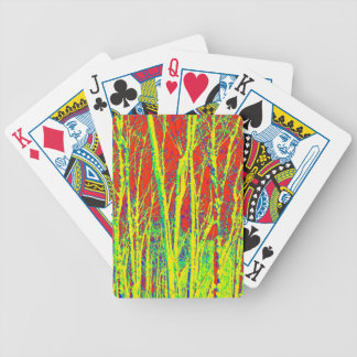 TREES BIZARRE 10 BICYCLE PLAYING CARDS