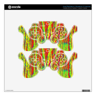 TREES BIZARRE 10 PS3 CONTROLLER SKINS