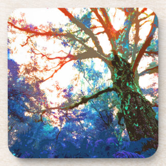 TREES BIZARRE 12 DRINK COASTERS