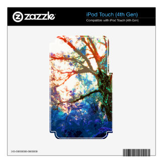 TREES BIZARRE 12 iPod TOUCH 4G SKINS