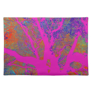 TREES BIZARRE 17 CLOTH PLACEMAT