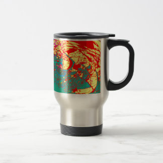 TREES BIZARRE 18 TRAVEL MUG