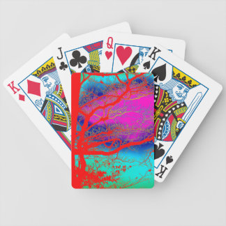 TREES BIZARRE 19 BICYCLE PLAYING CARDS