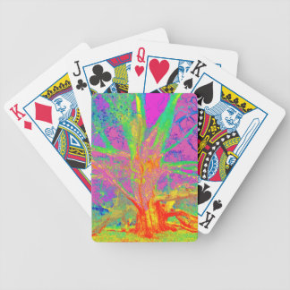 TREES BIZARRE 21 BICYCLE PLAYING CARDS