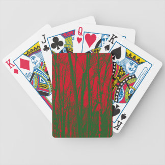 TREES BIZARRE 9 BICYCLE PLAYING CARDS