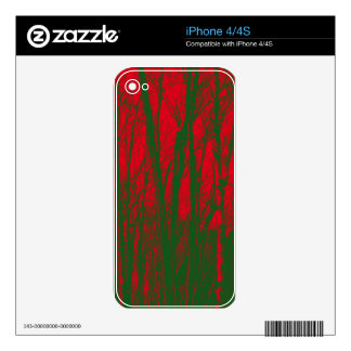 TREES BIZARRE 9 iPhone 4S DECAL
