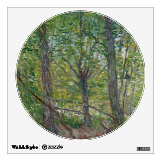 Trees by Vincent Van Gogh Wall Sticker