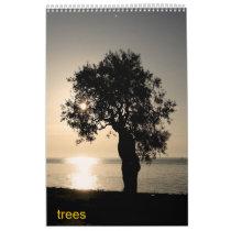 trees wall calendars