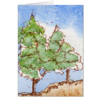 Trees CMXXII Greeting Card