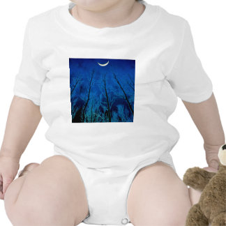 Trees Eerie Silence T-shirts
