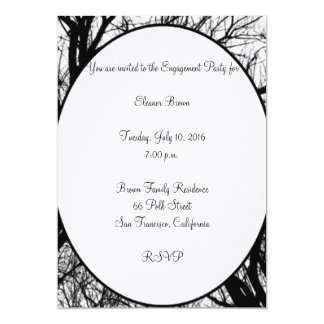 Trees Engagement Party Invitation