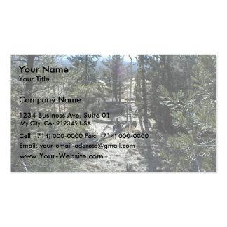 Trees Fallen Down Business Card