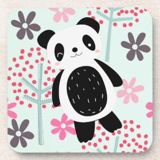 Trees, Flowers, and Panda Bears Coaster