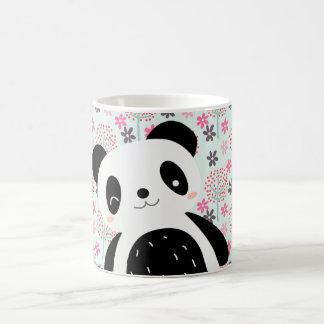Trees, Flowers, and Panda Bears Coffee Mug