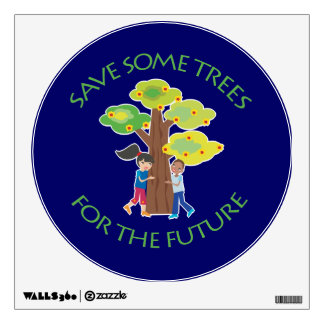 Trees for the Future Wall Stickers