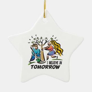 Trees for Tomorrow Ceramic Ornament