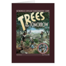 Trees for Tomorrow Greeting Card