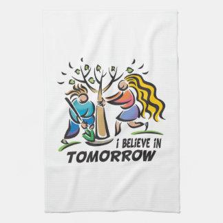 Trees for Tomorrow Kitchen Towel