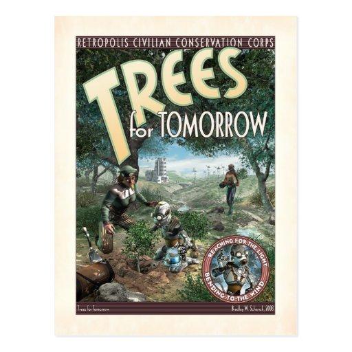 Trees for Tomorrow Postcard