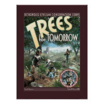 Trees for Tomorrow poster (18x24