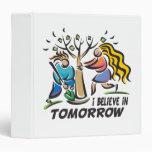 Trees for Tomorrow Vinyl Binder
