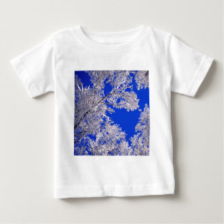 Trees Frosted Boulder Colorado Baby T-Shirt