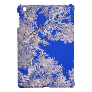 Trees Frosted Boulder Colorado Case For The iPad Mini