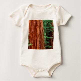 Trees Giant Sequoia Mariposa Grove Yosemite Baby Bodysuit
