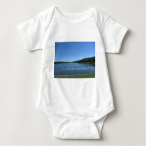 Trees Give Peace Baby Bodysuit