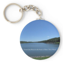 Trees Give Peace Keychain