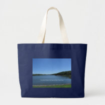 Trees Give Peace Large Tote Bag