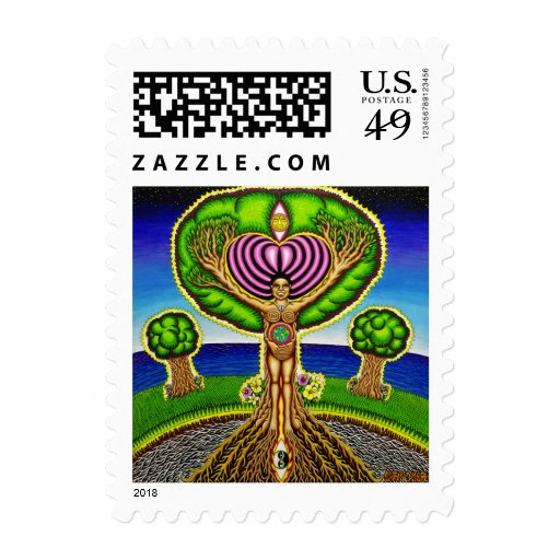 Trees got Soul  Postage Stamps