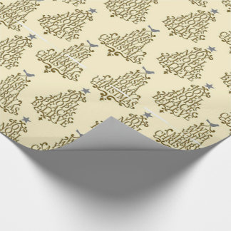 Tree's Greeting Wrapping Paper