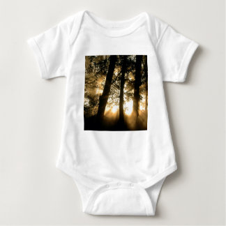Trees Harpeth River Bank Franklin Tennessee Baby Bodysuit