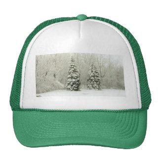 trees trucker hat