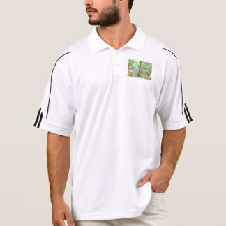 Trees in a jungle polo shirt