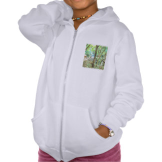 Trees in a jungle pullover