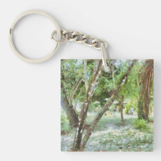 Trees in a local compound keychain