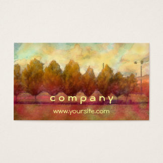 Trees in a Row Business Card