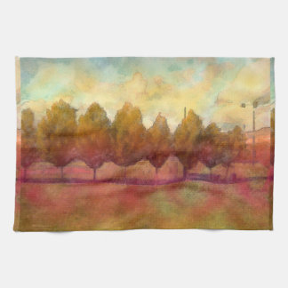Trees in a Row Kitchen Towel