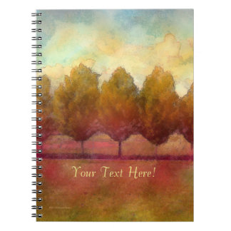 Trees in a Row Notebook